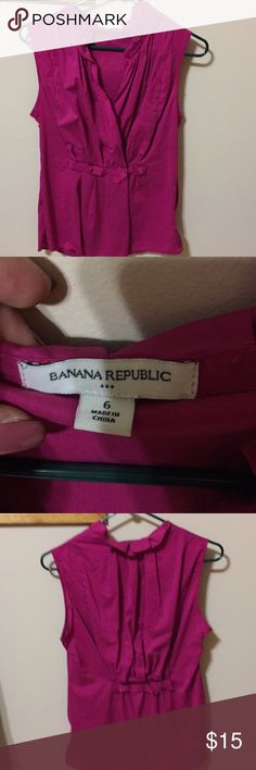 Super cut top Adorable Banana Republic Tops Blouses