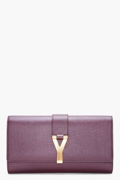 Large Purple Chyc Clutch