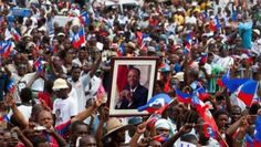 https://www.pinterest.com/jjerome958/eve-the-2020-global-initiative-for-news-on-haiti/ A massive crowd cheered the Sept. 30 speech by former President Jean-Bertrand Aristide outside his home, breaking a four year silence.  | Foto: AFP