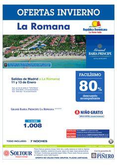 La Romana (Rep. Dominicana) 80% Grand Bahía Príncipe La Romana, salidas 11 y 13 Enero desde Madrid ultimo minuto - http://zocotours.com/la-romana-rep-dominicana-80-grand-bahia-principe-la-romana-salidas-11-y-13-enero-desde-madrid-ultimo-minuto/