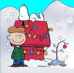 Charlie Brown Christmas #childhood