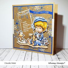 I Card, Christmas Cards, Winter, Blog, Fictional Characters, Boxes, Joy, Bricolage, Handmade