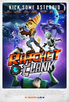 The Ratchet and Clank movie gets a new poster - http://tchnt.uk/1Li2lvG