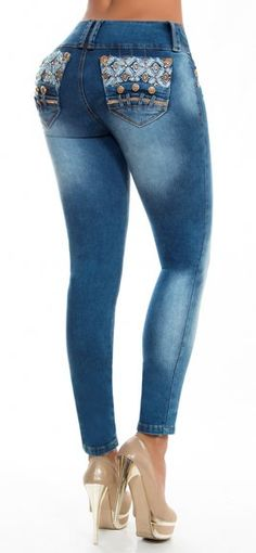 Jeans levanta cola REVEL 56055