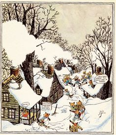 Father Fox's Pennyrhymes by Clyde Watson, illustrated by Wendy Watson, 1971.