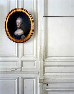 "photo of ""Portrait of Marie-Antoinette de Lorraine-Habsbourg, by Jean-Bapiste Charpentier, Antichambre du Dauphin, Corps Central - RdC, Versailles"" photo by Robert Polidori Decor, Sale Artwork, Versailles, Inspiration, House Design, Interior, Home Decor, Art And Architecture, Design Inspiration"