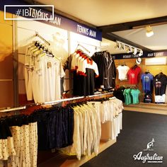 The best way to enjoy #tennis is to wear it. Visit #Australian store at #IBI16 , #Rome .