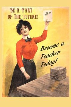 Vintage Poster http://www.pinterest.com/swsnyder/the-old-schoolhouse/