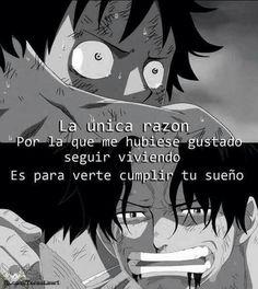 Sin llorar One Piece
