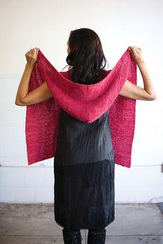 Ravelry: Hooded Wrap pattern by Sabrina Judge