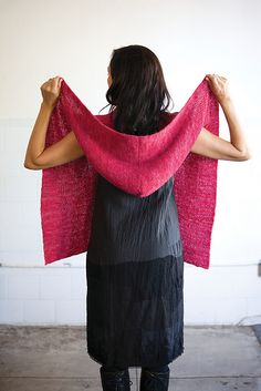 Ravelry: Hooded Wrap pattern by Sabrina Judge