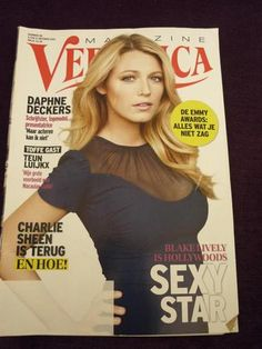 BLAKE LIVELY on Dutch Veronica magazine
