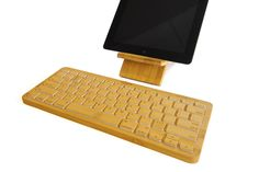 This week's popsweeps: Win this iZen Bamboo Bluetooth Keyboard! http://www.popsweeps.com/
