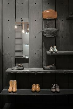 Reclaimed wood| retail display| addicted to retail