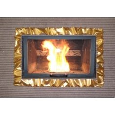 Frame design WROUGHT IRON for fireplace with or without LED. Customize creations. 400 Wrought Iron, Led, Articles, Frame, Design, Home Decor, Picture Frame, Decoration Home, Room Decor