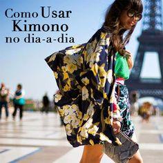 Kimono no Dia-a-dia #kimono #styling