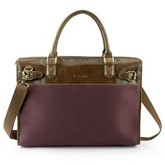 Lavievert Cotton Canvas and Crazy-horse PU Leather Laptop Bag / Vintage Cross Body Shoulder Bag and Handbag 2 in 1 / Notebook Ultrabook Tablet Padded Case for Up to 15.6 Inch Laptop - Purple Lavievert http://www.amazon.com/dp/B014S7ESY4/ref=cm_sw_r_pi_dp_RIzjwb0XM9H46