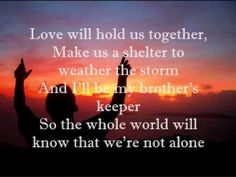 Hold Us Together (Matt Maher) my favorite praise and worship song. @alltorchers!