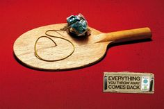 20 campagnes publicitaires chocs qui nous font réfléchir sur les problèmes environnementaux