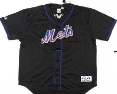 New York Mets Majestic #7 Jose Reyes Authentic Black Fashion Jersey Size 3XL