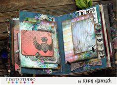 Elena Olinevich: Time Travelers Mini Album - 7 Dots Studio