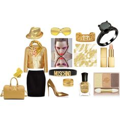 """""""Gold"""" by hasanalici on Polyvore"""