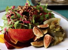 This beet, fennel, and fig salad from Candle 79 looks divine. I'm especially excited for the fresh figs, which IMO are one of life's great pleasures.