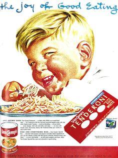 Demonic Children & Evil Teens Featured In Vintage Adverts 8