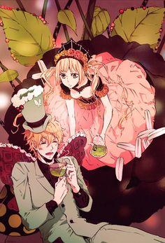 Karneval Tsukumo manga | Tags: Anime, Karneval, Yogi, Tsukumo (Karneval)