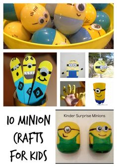 10 minion crafts for
