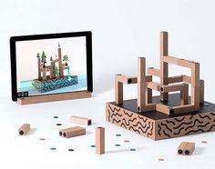 rogeriodemetrio.com: KOSKI Augmented Reality Building Block Game