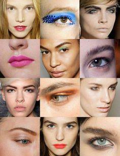 Distintos looks #makeup2013