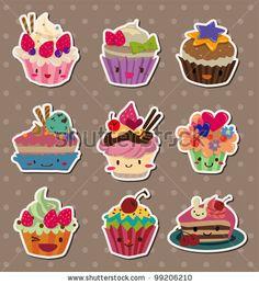 cupcake funny character