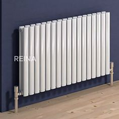 The Reina Neva White Horizontal Designer Radiator is Available in Black and a wide range of other colours. The Neva comes with a 5 year product guarantee. Electric Radiators, Column Radiators, Bedroom Radiators, Horizontal Designer Radiators, 1930s House, Bedroom Loft, New Homes, Home Appliances, House