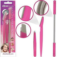 Facial Hair Removal Threading Tool Set For Women Includes Epilator Stick Spring