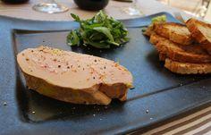 foie gras in a resta