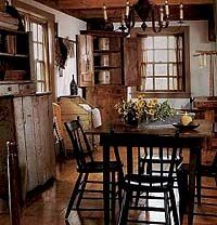 Farmhouse Dining... Love The Table U0026 Chairs, Wood Flooring U0026 Corner  Cupboard. | For The Home | Pinterest | Primitives, Corner Cupboard And Wood  Flooring