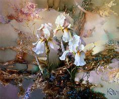 Sanatcı Yevgeni Kuznetsov Çiçek Sulu Boya Resim Çalışmaları, Gerçek Gibi Sulu Boya Çiçek Resimleri, Dünyaca Ünlü Ressamdan Çiçek Tabloları, Art Pictures, Sanatsal Boyama Çiçek Resimleri, Sanatsal Resi