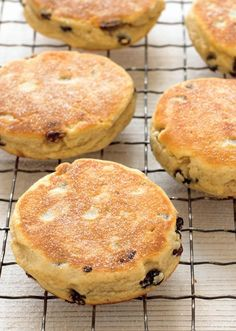 A tasty recipe for Welsh cakes by Mary Berry. Best sprinkled with sugar and served with butter, these treats are flavoured with mixed spice and plump currants. Easy Welsh Cakes, Welsh Cakes Recipe, Welsh Recipes, British Recipes, Scottish Recipes, Mary Berry Welsh Cakes, Baking Recipes, Cake Recipes, Eggless Recipes