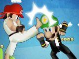 Mario Street Fight - O mais popular jogo de luta, agora você pode jogar como Mario ou Luigi, Princesa Peach mesmo! Acabe com todos os adversários que aparecerem em seu caminho.