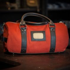 Cambridge Small Duffle Bag - Front View