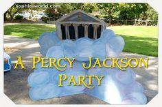 A Percy Jackson Party|sophie-world.com