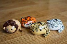 polymer clay kawaii animals - Google Search