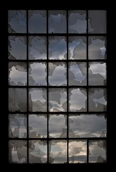 Broken glass...very awesome