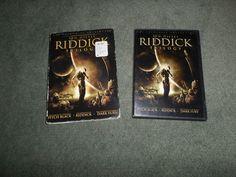 Riddick Trilogy (DVD, 2006), DVDs Play Fine, w/Slipcase, Good Shape