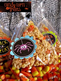 Candy Corn Treats - Lady Behind The Curtain