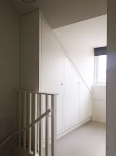 Attic Closet, Walk In Closet, Angled Bedroom, Attic Ladder, Attic Conversion, Attic Storage, Attic Rooms, White Space, Comfort Zone