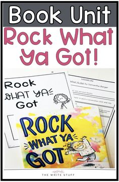 Teach your students to love who they are and rock what they've got!  Uplifting literacy lessons.