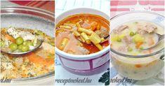 Lépj túl a tárkonyos ragulevesen és próbálj ki valami újat! Hungarian Recipes, Cheeseburger Chowder, Goodies, Cooking, Soups, Sweet Like Candy, Kitchen, Gummi Candy, Soup