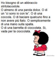 ..vada per la cioccolata..